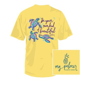YOUTH BeYOUtful Tee in Banana by MG Palmer