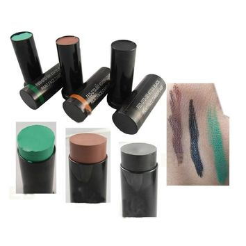 3pcs/box Military Woodland Camouflage Waterproof Face Paint oil Camouflage tricolor camouflage oil suit High Quality