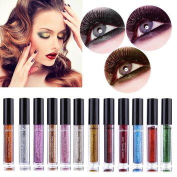 Makeup Glitter EyeLiner Shiny Long Lasting Liquid Eye Liner Waterproof Cosmetic Make up Eyeliner Maquiagem Glitter Eyeliner