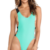 MANDALYNN Bryana One-Piece in Green