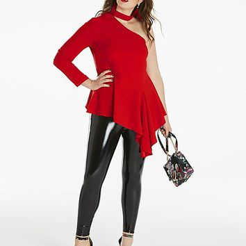 SBU RED BLOUSE | Simply Be USA