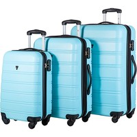 Travelhouse Luggage 3 Piece Expandable Spinner Set