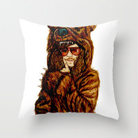 Workaholics Throw Pillow by Lydia Dick | Society6
