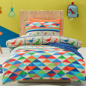 Dinoland Kids Room Bedding Set