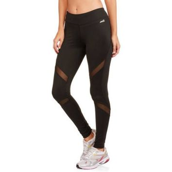 Avia Women's Active Fashion Legging with Powermesh - Walmart.com
