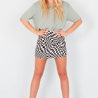 MOTEL | Pelmo Twill Skirt - Black/White