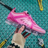 Nike Air Vapormax 2019 Silver Pink Sport Running Shoes - Best Online Sale