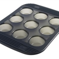 Silicone Muffin Pan 9 Cup