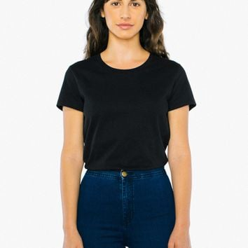 Power Wash Fitted T-Shirt | American Apparel