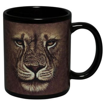 DCCKJY1 Lion Warrior Face Coffee Mug