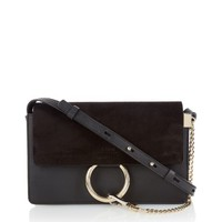 Faye small leather and suede cross-body bag | Chloé | MATCHESFASHION.COM US