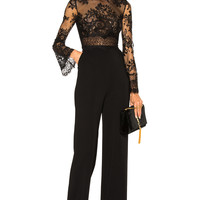 Zuhair Murad Jumpsuit in Black | FWRD