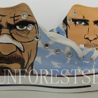 Breaking Bad/converse/hand painted shoes/canvas shoes