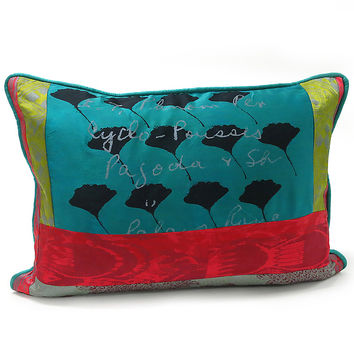 Ginkgo by Laura Goldstein (Silk Pillow) | Artful Home