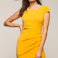 Suzy Wrap Sheath Dress