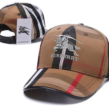 BURBERRY Golf Baseball Cap Hat