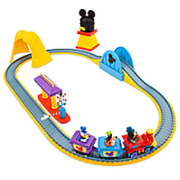 Mickey Mouse Clubhouse Train Track Set