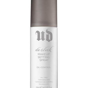 Authentic Urban Decay De-Slick Oil Control Makeup Setting Spray - 4 fl. oz