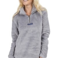 The Linden Sherpa Pullover – Lauren James