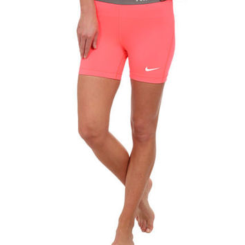 "Nike Pro Compression Shorts 5"" inch NWT Spandex 589365-646 Hyper Punch"