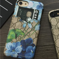 Gucci print phone shell phone case for Iphone6 / 6s / 6p / 7p