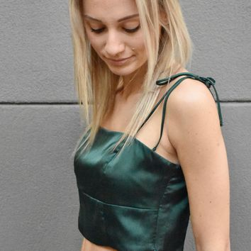 """Emerald City"" Top"