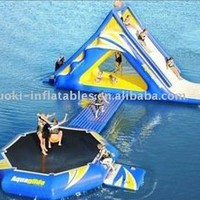 Ce Pvc Inflatable Water Park For Kid And Adult - Buy Inflatable Floating Water Park,Inflatable Mini Water Park,Inflatable Commercial Water Park Product on Alibaba.com
