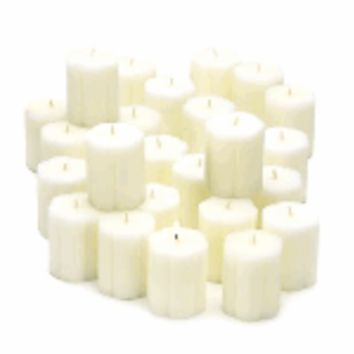 Classic Linen Votive Candles