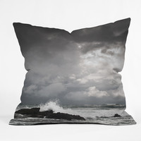 DENY Designs Bird Wanna Whistle Polyester Water Indoor/Outdoor Throw Pillow
