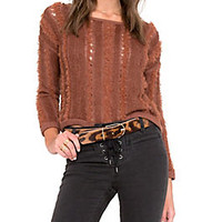 Amuse Society Womens Biscay Sweater