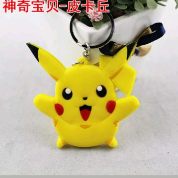Brand New Video Game Pokemon Pikachu Keychain