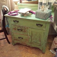 Lovely Antique Washstand/Petite Server/Media Console
