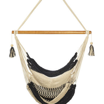 SEAT HAMMOCK TORTUGA pure cotton and natural dyes