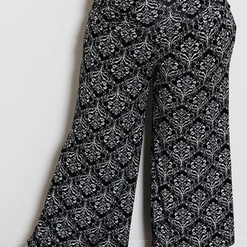 Printed Classic Jersey Pants
