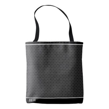 GS Double Diamond Minor Monogram Tote Bag