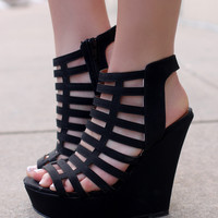 Precious Wonder Wedge - Black