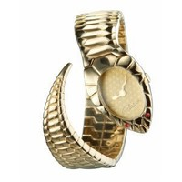 Roberto Cavalli 'Snake Bracelet' 7253250517 - Women's watch: Roberto Cavalli: Amazon.it: Watches