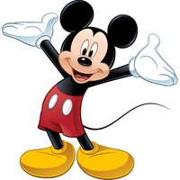 Room Mates Licensed Designs Mickey Mouse Peel and Stick Giant Wall Decal - RMK1508GM