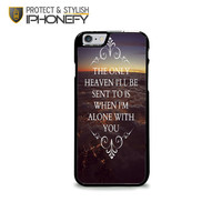 Hozier Take Me To Church Lyric iPhone 6 Plus Case|iPhonefy