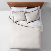 Yarn Dyed Tassel Trim Duvet Cover Set - Opalhouse™