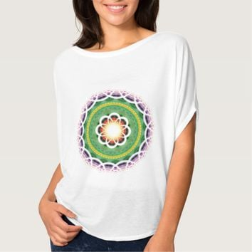 Women's Bella+Canvas Flowy Sacred Circle Top