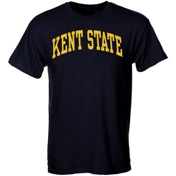 Kent State Golden Flashes Arch T-Shirt – Navy Blue