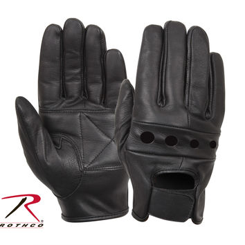 Leather Motorcycle Gloves