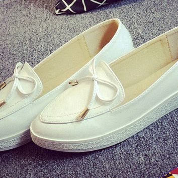 Womens Trendy Loafer Style Slip-On Sneakers