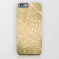 Minimal Gold iPhone & iPod Case by Elisabeth Fredriksson