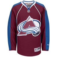 Colorado Avalanche 2015-16 Reebok Premier Youth Replica Home NHL Hockey Jersey