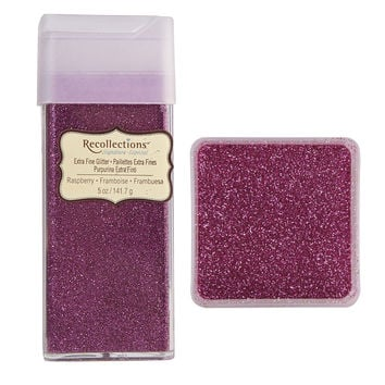 Recollections™ Signature Extra Fine Glitter, 5 oz.