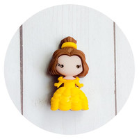 Belle Brooch Pin ~ Disney Gift Pins ~ Belle Jewelry ~ Disney Cruise Pin