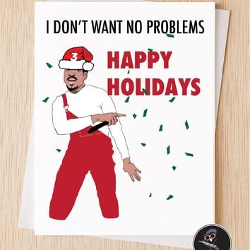 Chance The Rapper Happy Holidays Card