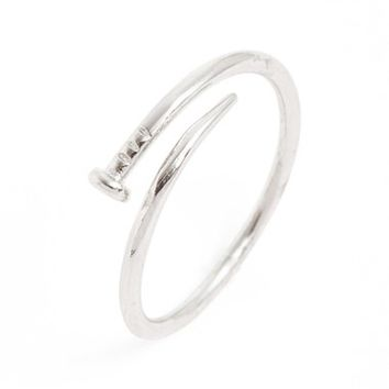 Junior Women's BP. 'Dainty Nail' Midi Ring